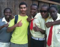 At Kenyan Sister School