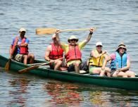 Canoe Race at Tyler Place, Courtesy of Tyler Place Family Resort