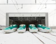Hokkaido Line Bullet Trains, Japan