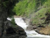 Lower Falls View from Footbridge