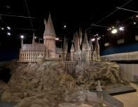 A Model of the Set of Hogwarts at the Warner Bros. Studio Tour