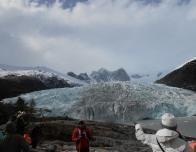 Touring Pia Glacier