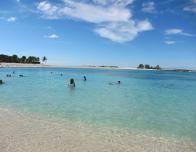 Paradise Island's beach