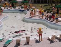 Miniland at the Legoland California resort theme park.