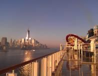 Breakaway Deck at Dawn in New York City