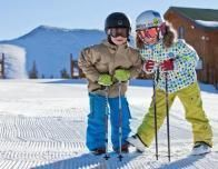 Kids play in the snow at Keystone; photo: Julia Vandenoever courtesy Keystone Resort.