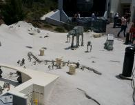 Star Wars miniatues at Legoland California.