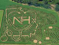 Corn Maze at Uncles Shuck's Farm in Georgia