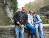 Melinda, My Stepdad and Me on the Footbridge