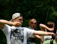 Teen Archery, Courtesy of Tyler Place Family Resort