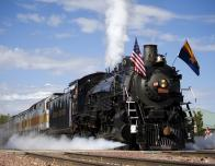 Steam Engine 4960 Rides the Rails on Recycled Vegetable Oil