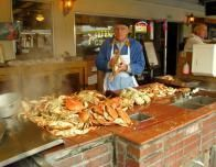 Dungeness Crab Stall at Fishermans Wharf, San Francisco