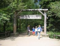 Entrance to Muir Woods