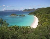 Trunk Bay off the island off St. John, USVI