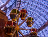 Take the kids to the AdventureDome in Las Vegas for family fun!