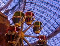 Take the kids to the AdventureDome in Las Vegas for family fun!