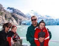 AdventureSmith Explorations family on deck