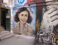 Anne Frank Graffiti is among the great street artworks of Berlin.