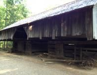 The Barn with the Tiller Plow