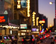 Lights of Broadway, New York City, by Tagger Yancey IV c NYC&Company