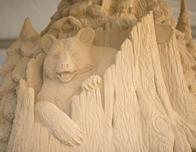 sand sculpture California