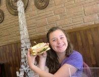 Lunch by the Eiffel tower