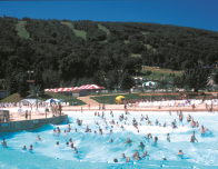 Outdoor Wave Pool at Camelbeach, Poconos