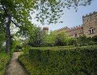 Castle, Tuscany, Italy