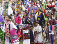 Plains Indian Museum PowWow by the Buffalo Bill Center of the West; photo: Ken Blackbird