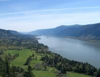 Columbia River Gorge from Cape Horn Trail