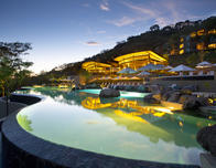 Family pool at the Papagayo Andaz resort in Costa Rica.