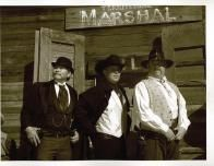 Costumed docents lead tours of the Old West sites.