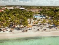 Aerial view of the Viva Wyndham Dominicus Palace resort in DR.