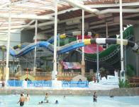 Aquatopia's water slides at Camelback, Pennsylvania