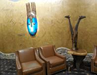 African art at Kalahari Resort