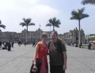 My Father and I in Lima, Peru