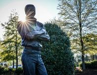 Dale Earnhardt Tribute Plaza, Kannapolis, North Carolina