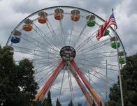 Ride the Centerpiece Ferris Wheel at Eltich Gardens