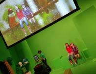 DigiPlaySpace, Toronto TIFF Gallery, Green Screen