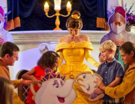 Meet Belle in the New Fantasyland at Walt Disney World Magic Kingdom
