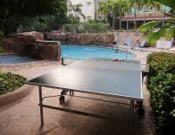 Doubletree Pool Area at the San Juan resort in Condado.
