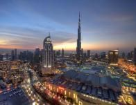 Downtown Dubai skyline