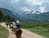 Horseback Riding at Estes Park