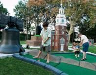 Mini Golf at Franklin Square, Photo by J. Holder for Visit Philadelphia