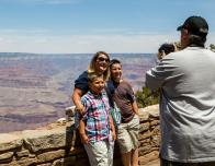 Family at South Rim
