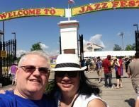 Entrance to Jazz Fest