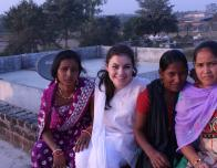 Emma and the Young Women in India