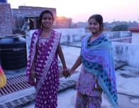 A Typical Form of Dress for Indian Women - Sari and Punjabi