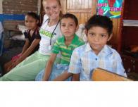 The children at the health fair
