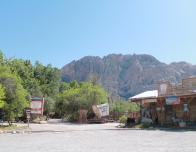 The perfect backdrop to an old Western town at Bonnie Springs Ranch